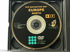 Toyota/Lexus Navigation DVD E1F NORTH EUROPE  2017-2018 Ver. 1