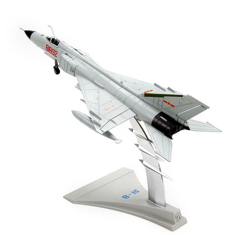 1 72 Scale J-8 Fighter Aircraft Gift Airplane Static Metal Model Collection