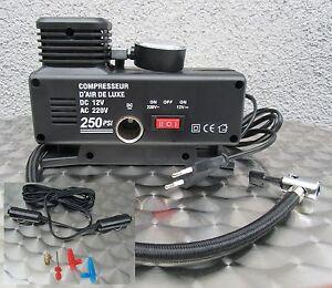 Kompressor-Elektrische-Pumpe-Ballpumpe-220V-amp-12V-Betrieb-034-Hohe-Qualitaet-034-54323