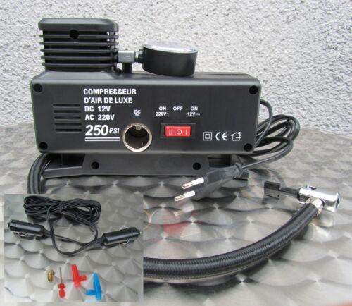 """Compresor bomba eléctrica bomba de pelota 220v /& 12v explotación /""""alta calidad/"""" 54323"""
