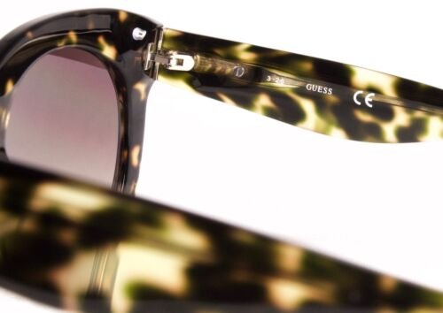 Guess Sunglasses GU 7485 56F Transparent Havana Msrp $115.00