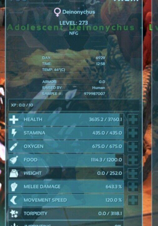 ark survival evolved xbox one pve 643 Melee Deinonychus Eggs Buy 2 Get 3rd Free
