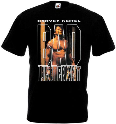 BAD LIEUTENANT v2 Movie Poster T shirt Black all sizes S..5XL