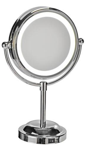 LED Kosmetikspiegel Spiegel beleuchtung 5-fach vergrößerung Neu OVP