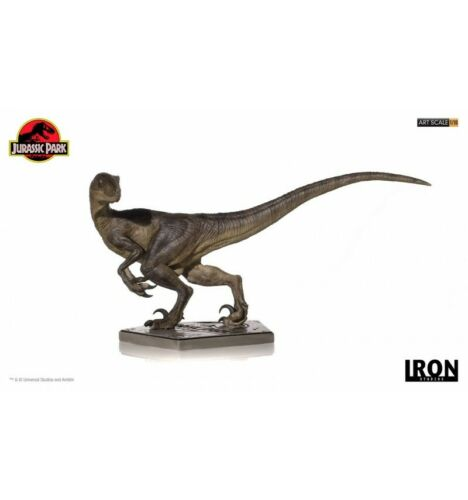 Iron studios 29 CM Velociraptor Jurassic Park Statuetta 1//10 Arte Scala