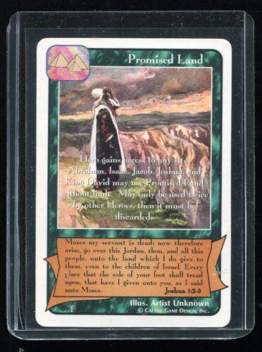 Redemption CCG The Patriarchs Nrmt//Mint Promised Land