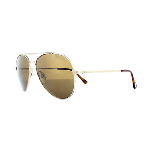 64117a5d96 Tom Ford Sunglasses 0497 Indiana 28H Shiny Rose Gold Brown Polarized ...