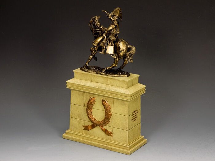 """King & Country """"General Lasalle w Sand Stone Plinth"""" (SP079 + SP090) SP090-SA"""
