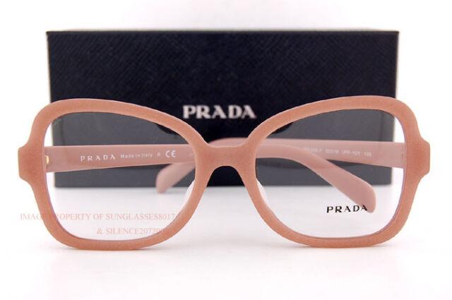 d0935238f96 Brand New Prada Eyeglass Frames PR 25SV UFF 1O1 Matte Alluminium Women Size  53