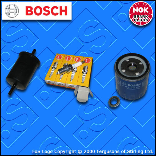 1996-2000 Kit D/'EntrEtiEn Pour PEUGEOT 106 1.1 Essence Huile Carburant Filtres Prises