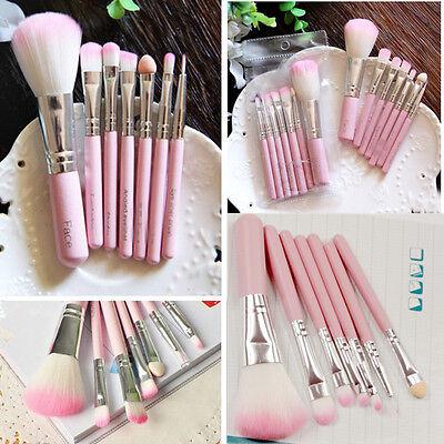 Professional Makeup Sets 7Pcs Pink Brush Eye Face Brushes Cosmetic Brush Tool