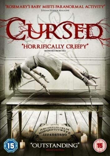 1 of 1 - Cursed (DVD) (NEW AND SEALED) (REGION 2) (FREE POST)