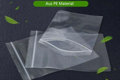 Druckverschluss Beutel Versand Taschen 7x10 8x12 12x17 10x15 18x26 15x20 23x33cm