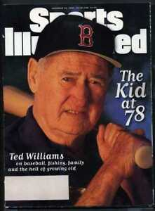 SPORTS-ILLUSTRATED-NOVEMBER-25-1996-TED-WILLIAMS