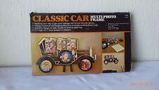 Vintage Classic Car Multi Photo Frame Wall Desk or Table Top Frame 6 Photos