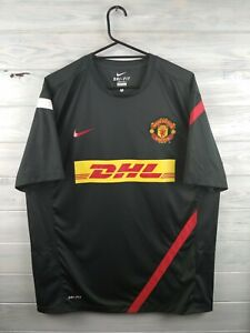Manchester-United-jersey-XL-training-shirt-soccer-football-Nike