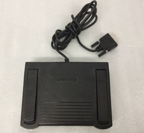 Infinity IN-FCHC Transcription Foot Pedal PC 15 Pin Connector Transcription Blk