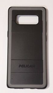 new product 94d94 1bfab Details about Pelican Protector Case for Samsung Galaxy Note 8 -  Black/Light Gray