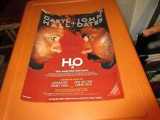 "Daryl Hall & John Oates , POSTER , 11"" X 14"" , H2O"