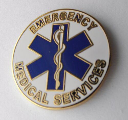 EMS LAPEL PIN EMERGENCY MEDICAL SERVICES EMT PARAMEDIC BADGE 1 INCH