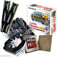 Computer PC Aufrüstkit AMD Quad Core X4 FX-4300 (4x3,8GHz)+8GB-DDR3+Gigabyte 78L