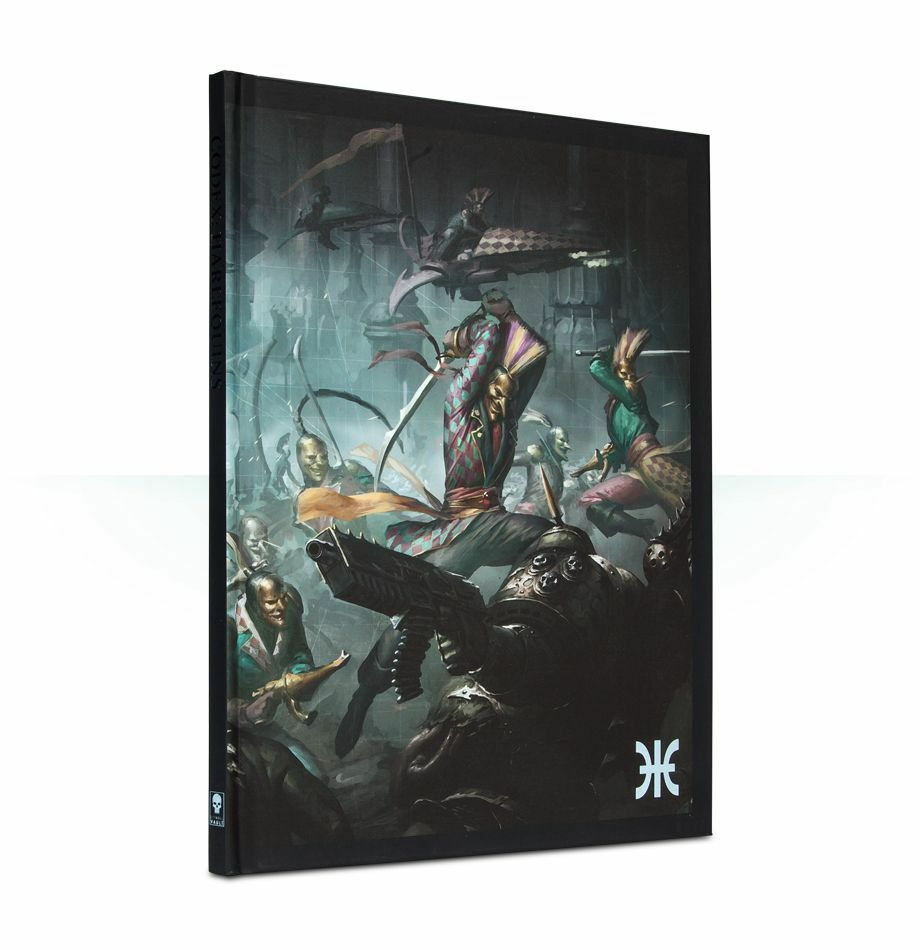 Codex Harlequins COLLECTOR'S EDITION NEW Limited Comme neuf WARHAMMER Comme neuf