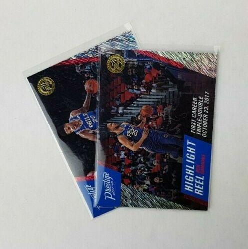2017-18 Prestige Highlight Reel Rain-nba-baloncesto cards-selección//Select