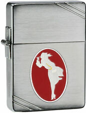 Zippo 28729 Windy Varga Emblem 1935 Brushed Chrome 35000 Units Lighter