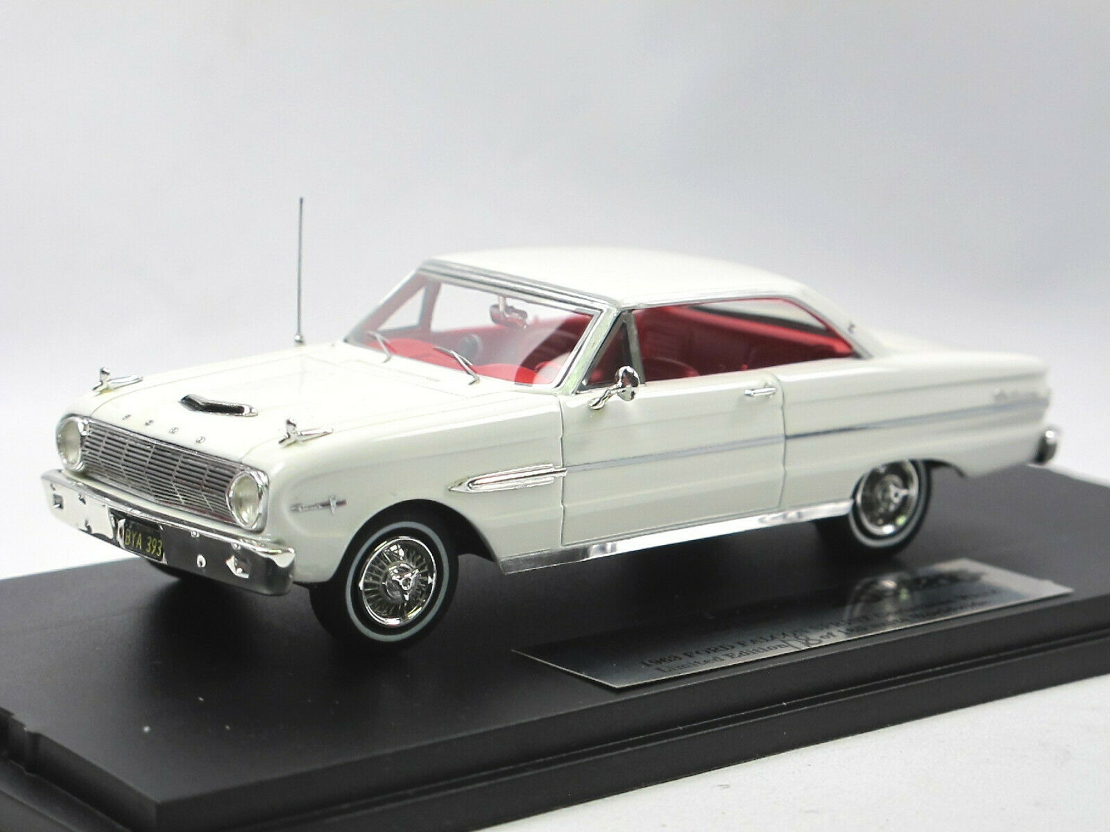 moda classica orovarg Collection gc-010b - 1963 FORD FALCON SPRINT SPRINT SPRINT bianca 1 43 Limited  più preferenziale