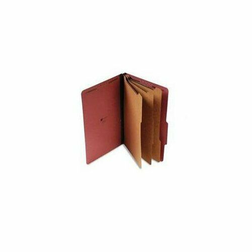 UNIVERSAL OFFICE PRODUCTS 10295 Pressboard Classification Folder, Legal,