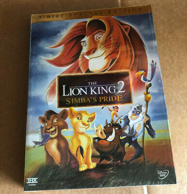 The Lion King 2 Simbas Pride Special Edition Dvd 2004 2 Disc Brand New Set 786936231717 Ebay
