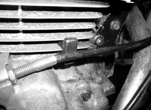 NOS QUALITY CLUTCH CABLE INSULATOR RUBBER HONDA SUPERDREAM CB250N CB400N 1982