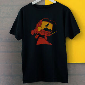 flcl fooly cooly canti naota silhouette new black tees t shirt s 3xl