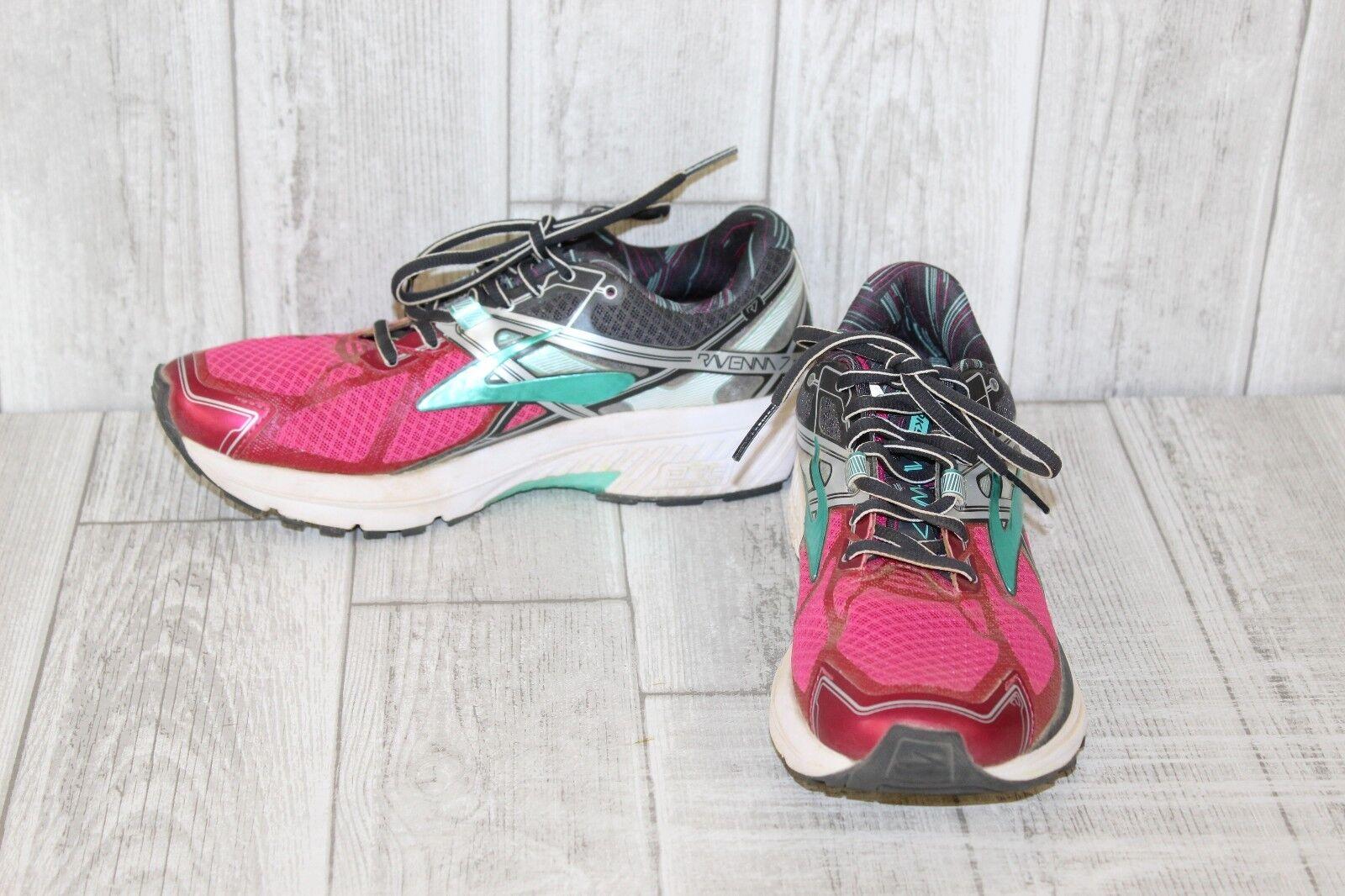 Brooks Ravenna 7 Running Chaussures - Femme 7B, Fuchsia  Violet /Anthracite/Cockatoo