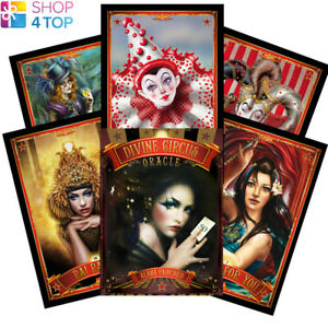 Divine-Circus-Oracle-Deck-Cards-Esoteric-Fortune-Telling-Blue-Angel-New