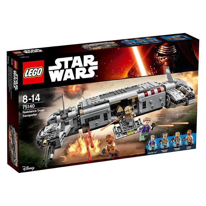 75140 Star Wars RESISTANCE TROOP Transporteur v29 NEUF neuf dans sa boîte New