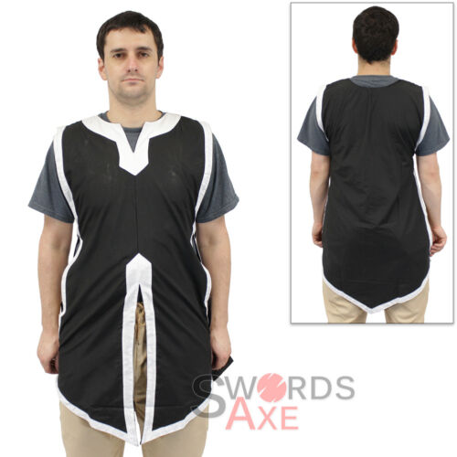 Larp Jerkin Sleeveless Basic Medieval Tabard Renaissance Costume Tunic Shirt