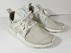 huge selection of cb8ff b7497 Details about Adidas NMD XR1 PK Triple White Boost Prime Knit BB1967  Running Shoes Men's Sz 8