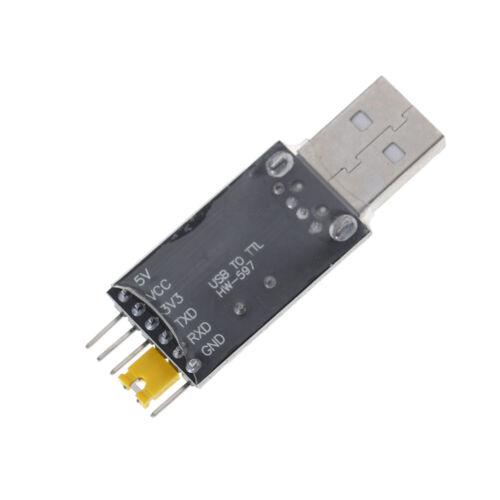 Modulo USB a TTL CH340 CH340G Switch 3.3v 5v con cavo di download stc