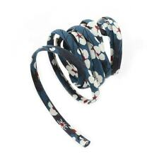 Liberty of London Print 4mm Ribbon Cord for Jewellery & Crafts Mitsi 1m (B36/7)