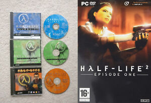 Details About Half Life Goty Blue Shift Opposing Force Used Half Life 2 Episode One N S