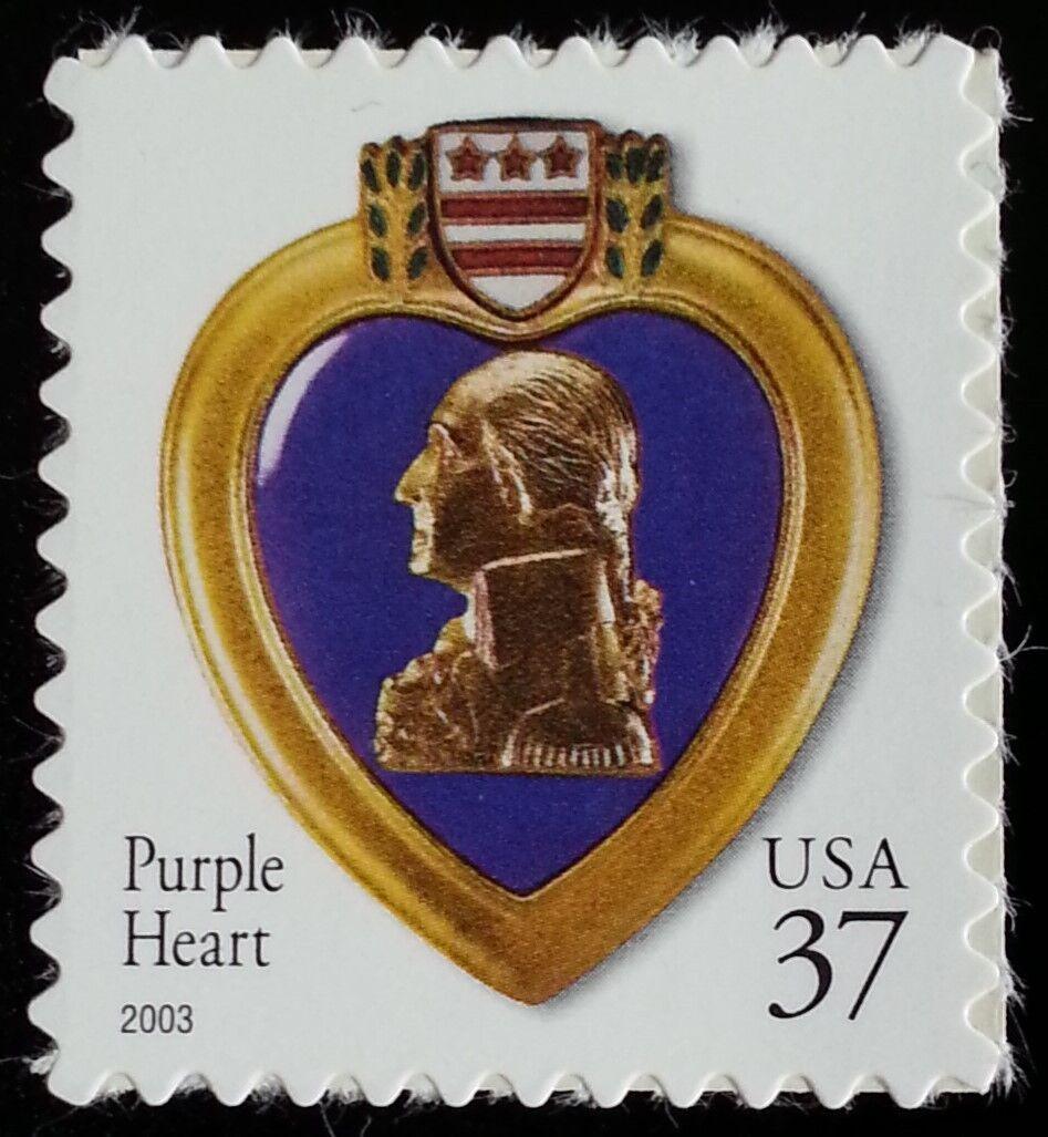 2003 37c Purple Heart, Special Issue Scott 3784 Mint F/