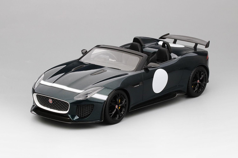 Haut Vitesse JAGUAR F-Type British Racing vert TS0033 1 18 objet neuf