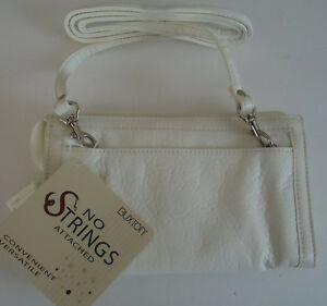 Buxton-034-No-Strings-Attached-034-Shoulder-Strap-Bag-White