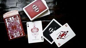 Carte-da-gioco-SMOKE-amp-MIRROR-V6-RED-by-Dan-amp-Dave-poker-size-1-edizione