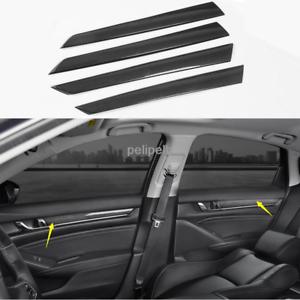 Carbon fiber Car Interior Door Stripe Decoration Trim For Honda Accord 2018-2019