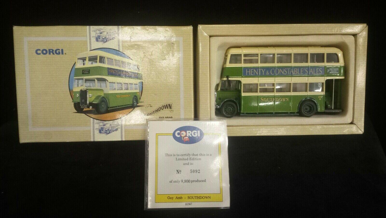 moda modellolino Autoautobus Corgi , , , giocattoli vintage , Autoautobus giocattolo in mettuttio  economico in alta qualità