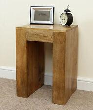 Mantis Bedside Table H60cm X W50cm X D36cm Solid Mango Oak