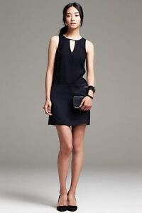 New-Banana-Republic-Crepe-Swing-Dress-Size-6P-Second-item-will-ship-for-free
