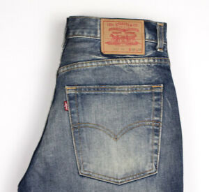 Levi-039-s-Strauss-amp-Co-Hommes-525-04-Jeans-Jambe-Droite-Taille-W32-L32-ARZ930